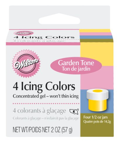 Wilton Icing Colors .5oz 4/Pkg-Garden Tone Wilton Garden