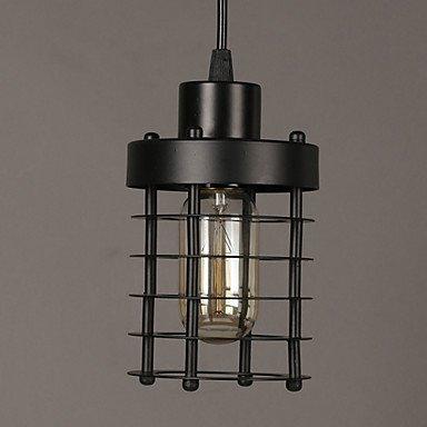 E14 10 * 18 cm spektrale Linie 1M Retro Runde Stirnlampen und chinesische Kunst Kronleuchter LED-Leuchten , black