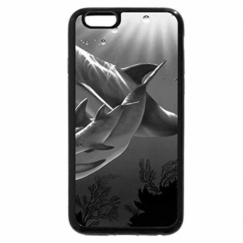 iphone-6s-case-iphone-6-case-black-white-dolphin-cristiana-riese-lassen