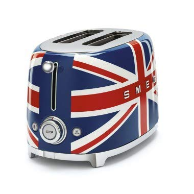 TOSTAPANE 2 FETTE Union Jack London 950w TSF01Interfaccia multifunzione Funzione Riscaldamento per scaldare toast o fette di pane o per continuare la tostatura se il risultato non è soddisfacente, scongelamento per scongelare il pane che si desidera ...
