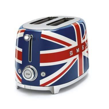 Smeg TSF01UJEU Toaster, Mehrfarbig