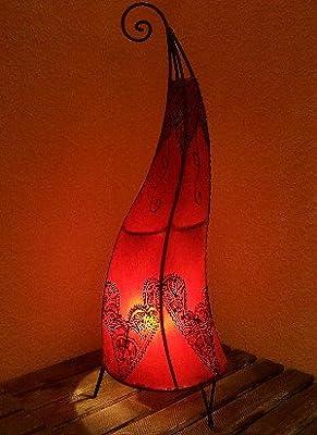 Orientalische Stehlampe Arif Rot 70cm von Marrakesch bei Lampenhans.de