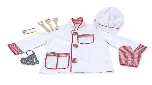 Melissa & Doug Chef Rolle Play Set - 14838 Lady