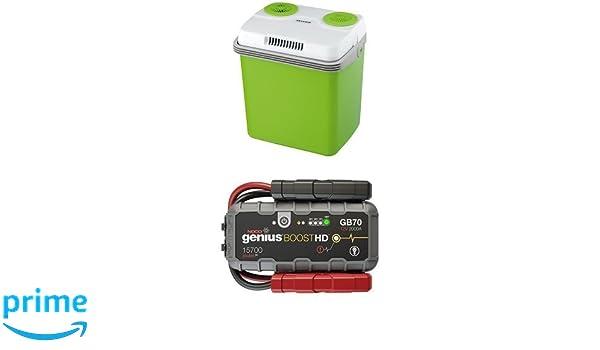 Mini Kühlschrank Mit Batterie : Noco gb v lithium starthilfegerät inkl batterie und severin
