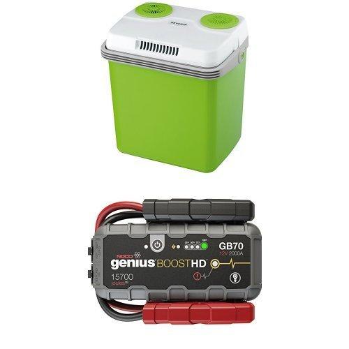Preisvergleich Produktbild NOCO GB70 12V-Lithium-Starthilfegerät inkl. Batterie und Severin Mini-Kühlschrank 20 L