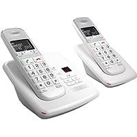 Telefunken TD352 Pillow Téléphone sans fil pour SENIOR Blanc