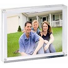 Acryl Fotorahmen Bilderhalter 150x115x24 mm Magnetverschluss