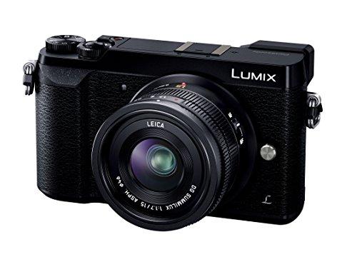 Panasonic ミラーレス一眼カメラ ルミックス GX7MK2 単焦点ライカDGレンズキット ブラック DMC-GX7MK2LK
