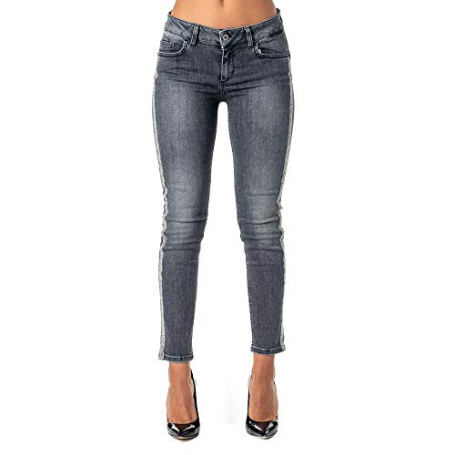 the best attitude ea32d 50542 Jeans Liu Jo Donna LIU-JO cod.U69001D4366 BLACK SIZE:32