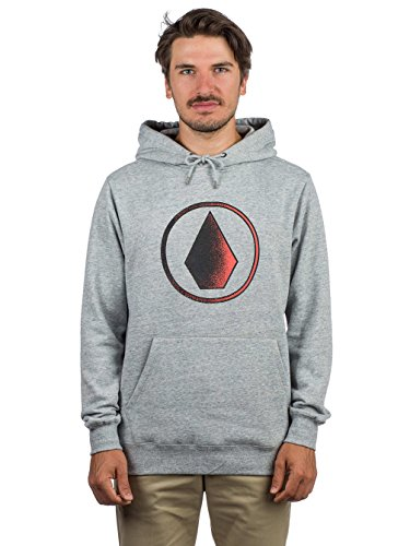 Volcom Herren Supply Stone Kapuzenpullover, Storm, M Volcom-print-sweatshirt