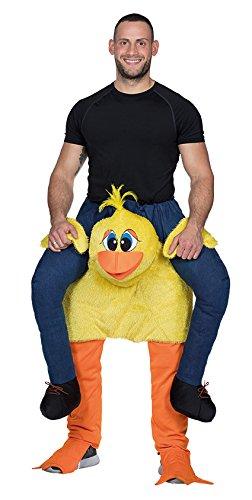 Huckepack Hose Ente Herren Kostüm Karneval Halloween (Halloween-kostüme Lustige 3 Personen Für)