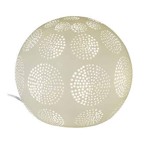 formano kugellampe Formano Kugel-Lampe 'Kreise', 21 cm, weiss