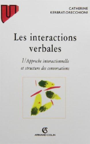 Les interactions verbales