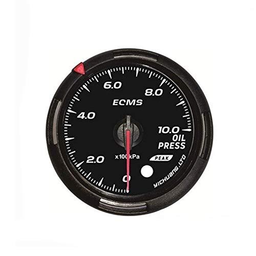 Auto 60mm 1000 Kpa Manómetro de aceite con el sensor automático del coche 12v universal for el coche...