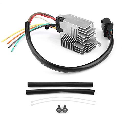 Módulo de control ventilador del Radiador, Regulador Electrónico de la ventilador de película de carbono para ventilador de refrigeración Radiador para A4/A6