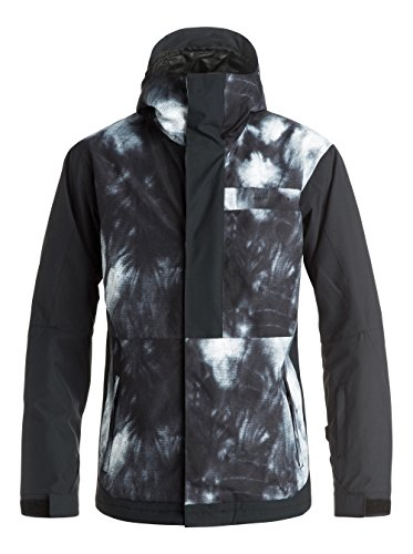 Quiksilver Ambition Giacca, Tempeta Caviar, S