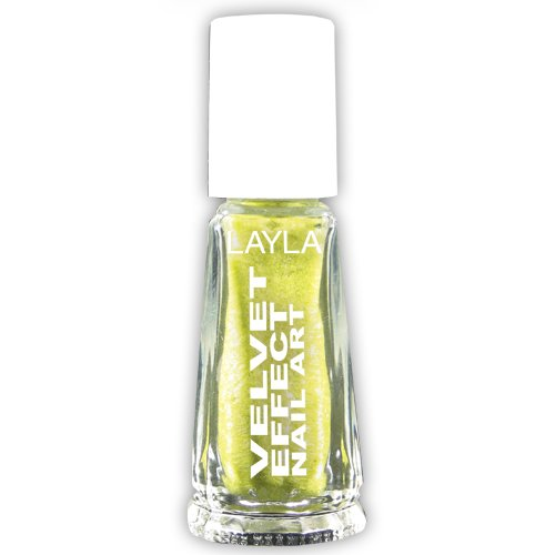 LAYLA - Nail Art Velvet Effect / Poudre de Velour - 07 LEMON SOFT