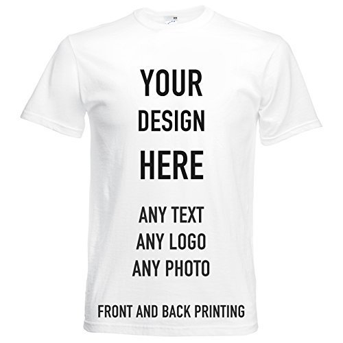 d5e348d9 T-Shirts, Personalised Tees, Front & Back Print, Great for Gifts,