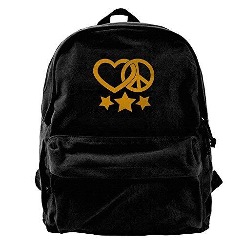 Rucksäcke, Daypacks,Taschen, Sweet Cherries Unisex Classic Canvas Backpack,Unique Print Style,Fits 14Inch Laptop,Durable,Black - Messenger Ogio Tasche
