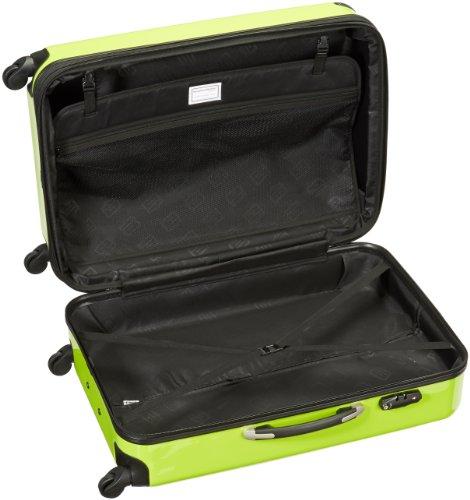 HAUPTSTADTKOFFER - Alex - Hartschalen-Koffer Koffer Trolley Rollkoffer Reisekoffer Erweiterbar, 4 Rollen, TSA, 75 cm, 119 Liter, Apfelgrün - 6