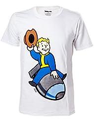 Import Europe - Camiseta Fallout Vault Boy Bomber, Talla L