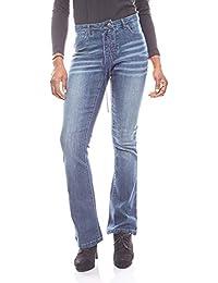 Aniston coole Freizeithose Damen Hose Cargo-Look Kurzgröße Stoffhose Khaki SALE