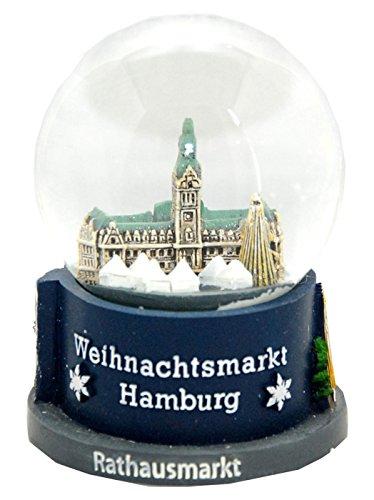 30022 souvenir palla di neve germania natale mercato amburgo