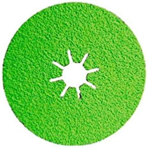 Sidamo–25discos fibra cerámica–d.125X 22,23mm CR 60sidadisc–acero/acero inoxidable–10703014