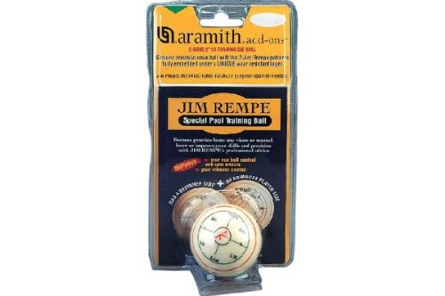 Aramith Trainingsspiel mit Trainingskugel 57,2mm von Jim Rempe