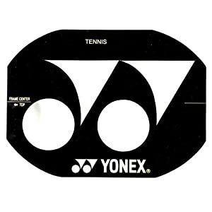 YONEX Stencil Card Tennis Racket A Typ 90 – 99 inch by