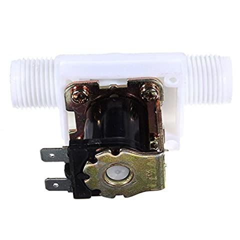 KING DO WAY N/C 1/2'' DC 12V Electric Solenoid Valve Magnetic Water Air Inlet Flow Switch