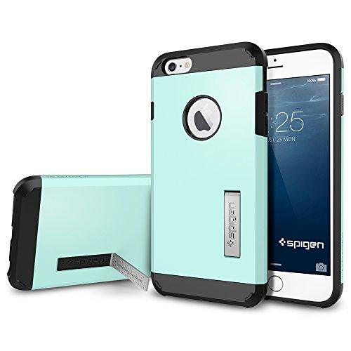 """Spigen Coque iPhone 6 Plus (5,5"""") [ARMURE] Coque iPhone 6 Plus (5,5"""") [Tough Armor] [Mint] Protection EXTREME double couche pour iPhone 6 Plus (2014) - Mint (SGP11055) Menthe"""