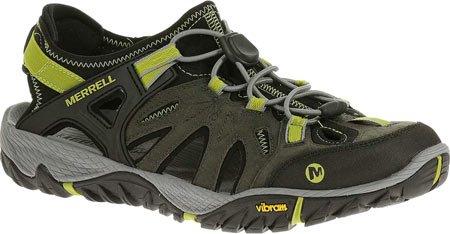 Merrell All Out Blaze Sieve, Chaussures de randonnée montantes homme Castle Rock/Green Oasis