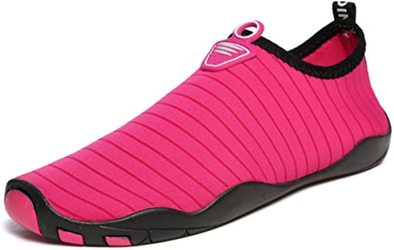 POSEDO Badeschuhe Männer Und Frauen Surf Schuhe Schwimmen Schuhe Strand Schuhe Einschließlich Aller Größen Dick Boden