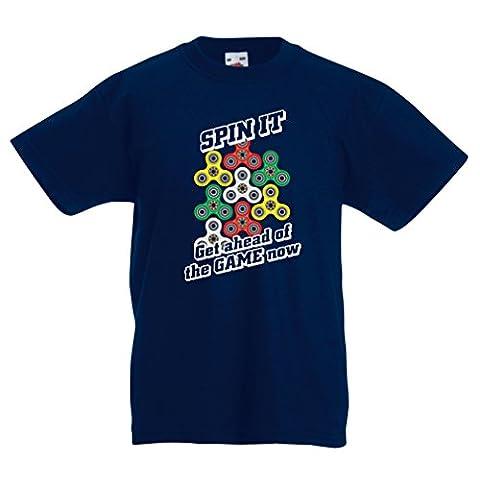 Kinder T-Shirt Für Fidget Spinner Spielzeug Enthusiasten - Stress Reducer