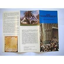 Folleto Turistico - Tourist Brochure: DAS WASSERGERICHT. Von Valencia (Spanien)