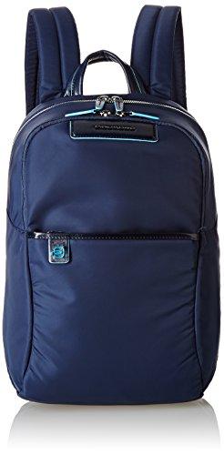 Piquadro Celion Zaino, Unisex adulto, Blu, 15x39x27cm