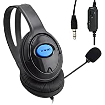 Tomtopp Wired Gaming Headsets Headphones With Mic For PS4 Sony PlayStation 4 /PC