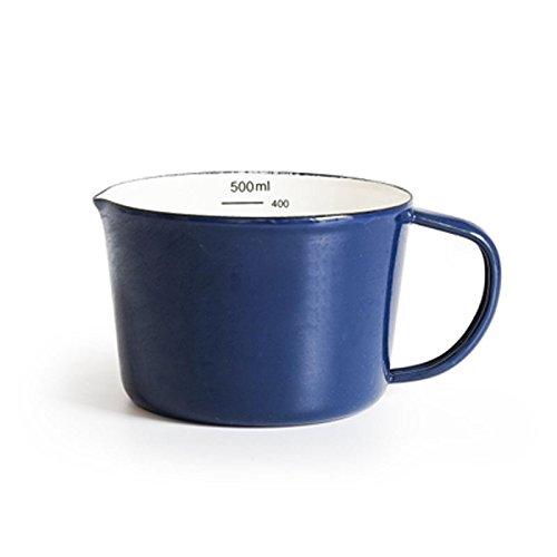 TIANLIANG04 Becher Kaffeetassen Emaille Tasse Tasse Kaffee Liebhaber Tasse Tee Tasse Große Office...