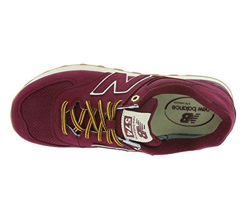New Balance Herren 574 Sneakers Bordeaux