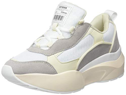 7156552dc9 SIXTY SEVEN Damen 79816 Sneakers, (Suede Blanco Roto/Napa Beige C43369),