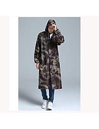 Con Uomo Impermeabile Da Camouflage Di Codice Lunga Giacca OxfordPanno Cappuccio L4RjSc3A5q