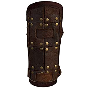 Epic Armoury 10044245 RFB Fighter Bracers - Negro - S Under Arm Armour, Unisex Adulto