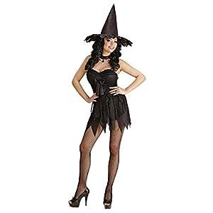 WIDMANN Widman - Disfraz de halloween bruja adultos, talla 36