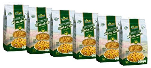 Pasta d´oro - Glutenfreie Nudeln (Fusilli) aus Maismehl 12er Pack (12 x 500 g)