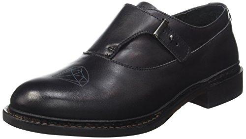 Neosens Hondarribi 909, Cheville Chaussures Lacées Femme Noir (Ebony)