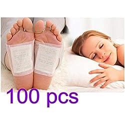 Lavillede Lavillede Detox-Fuß-Patches, Detox Body-Fuß-Patches Stress Relief verbessern die Schlafqualität 100PCS