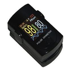Dr. Morepen PO04  Pluse Oximeter (Black)