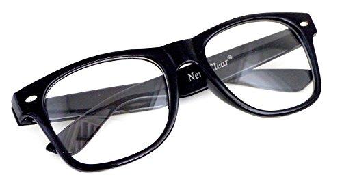 DIE ORIGINAL Blues Brothers® Brille 100% Original mit klaren Gläsern! (Blue Brothers Kostüm Frauen)