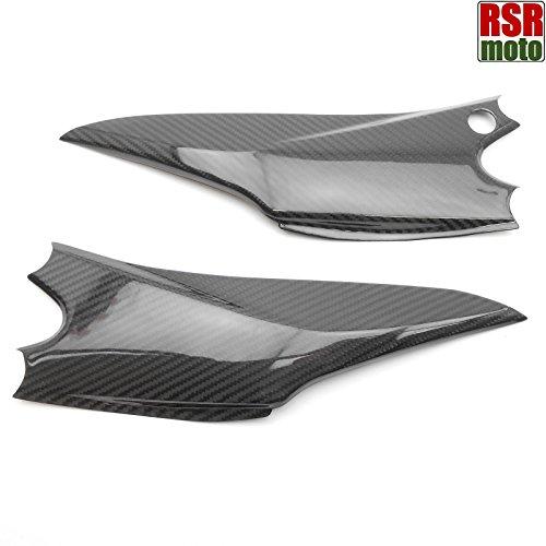 RSR Moto Suzuki GSXR 750600100% pura fibra di carbonio sedile pannelli laterali, 2012-2016